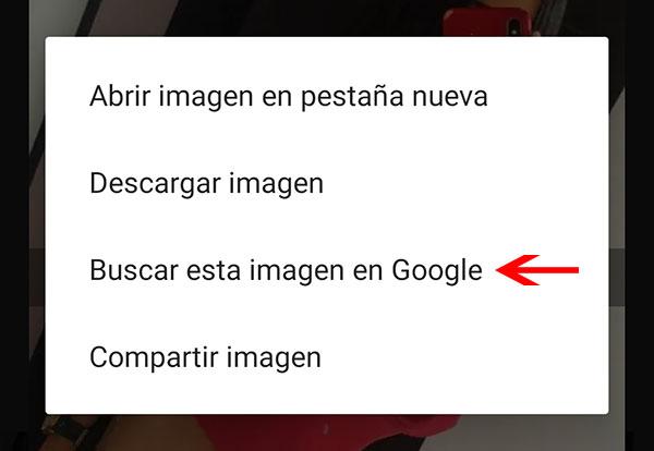 buscar imagen en google android